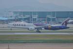 mitudon321さんが、仁川国際空港で撮影したカタール航空 777-3DZ/ERの航空フォト(写真)