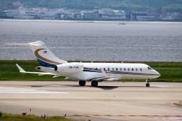 T.Sazenさんが、関西国際空港で撮影したベルジャヤ・エア BD-700-1A11 Global 5000の航空フォト(写真)