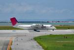 tsubasa0624さんが、那覇空港で撮影した琉球エアーコミューター DHC-8-314 Dash 8の航空フォト(飛行機 写真・画像)