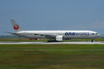 tsubasa0624さんが、那覇空港で撮影した日本航空 777-346の航空フォト(写真)