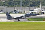 tsubasa0624さんが、嘉手納飛行場で撮影したアメリカ空軍 F-15C-32-MC Eagleの航空フォト(飛行機 写真・画像)