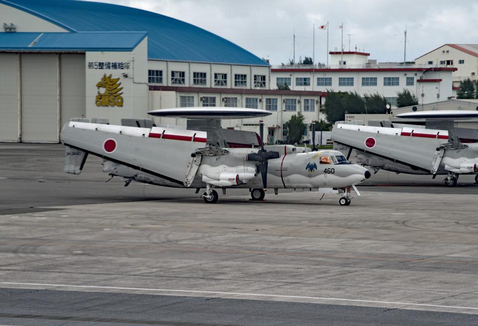 tsubasa0624さんの航空自衛隊 Grumman E-2 Hawkeye (34-3460) 航空フォト