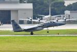 tsubasa0624さんが、嘉手納飛行場で撮影したアメリカ空軍 F-15C-39-MC Eagleの航空フォト(飛行機 写真・画像)
