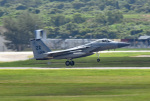 tsubasa0624さんが、嘉手納飛行場で撮影したアメリカ空軍 F-15C-37-MC Eagleの航空フォト(飛行機 写真・画像)