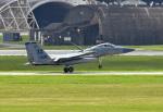 tsubasa0624さんが、嘉手納飛行場で撮影したアメリカ空軍 F-15C-31-MC Eagleの航空フォト(飛行機 写真・画像)