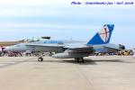 いおりさんが、岩国空港で撮影したアメリカ海兵隊 F/A-18C Hornetの航空フォト(写真)
