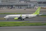 pringlesさんが、羽田空港で撮影したソラシド エア 737-81Dの航空フォト(写真)