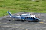 T.Sazenさんが、関西国際空港で撮影した海上保安庁 S-76Dの航空フォト(飛行機 写真・画像)