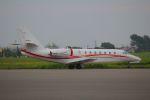 NASDAJAXAさんが、札幌飛行場で撮影した朝日航洋 680 Citation Sovereignの航空フォト(写真)