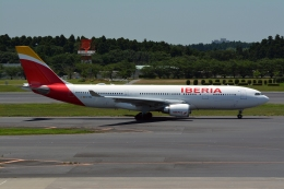 k-spotterさんが、成田国際空港で撮影したイベリア航空 A330-202の航空フォト(写真)