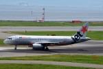 T.Sazenさんが、関西国際空港で撮影したジェットスター・アジア A320-232の航空フォト(写真)