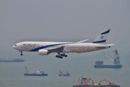 tupolevさんが、香港国際空港で撮影したエル・アル航空 777-258/ERの航空フォト(写真)
