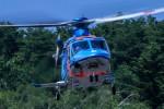 アミーゴさんが、松本空港で撮影した富山県警察 AW139の航空フォト(写真)