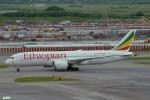 妄想竹さんが、スワンナプーム国際空港で撮影したエチオピア航空 787-8 Dreamlinerの航空フォト(写真)