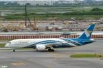 妄想竹さんが、スワンナプーム国際空港で撮影したオマーン航空 787-8 Dreamlinerの航空フォト(写真)