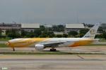 妄想竹さんが、ドンムアン空港で撮影したノックスクート 777-212/ERの航空フォト(写真)