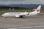たみぃさんが、鹿児島空港で撮影した日本航空 737-846の航空フォト(写真)