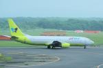 yabyanさんが、新千歳空港で撮影したジンエアー 737-86Nの航空フォト(飛行機 写真・画像)