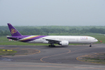 yabyanさんが、新千歳空港で撮影したタイ国際航空 777-3D7/ERの航空フォト(写真)