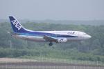yabyanさんが、新千歳空港で撮影したANAウイングス 737-54Kの航空フォト(飛行機 写真・画像)