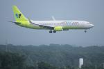 yabyanさんが、新千歳空港で撮影したジンエアー 737-8SHの航空フォト(飛行機 写真・画像)