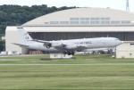 Koenig117さんが、嘉手納飛行場で撮影したアメリカ空軍 E-8C J-Stars (707-300C)の航空フォト(写真)