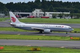 Timothyさんが、成田国際空港で撮影した中国国際航空 737-86Nの航空フォト(飛行機 写真・画像)