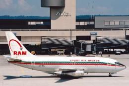 菊池 正人さんが、チューリッヒ空港で撮影したロイヤル・エア・モロッコ 737-2B6/Advの航空フォト(飛行機 写真・画像)