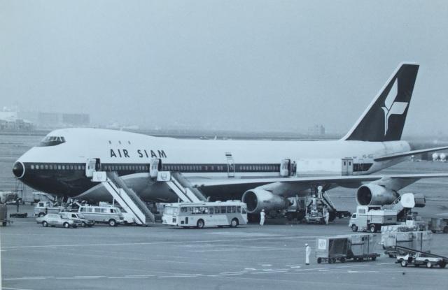 TKOさんが、羽田空港で撮影したエア・サイアム 747-206Bの航空フォト(飛行機 写真・画像)