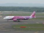 くまのんさんが、新千歳空港で撮影したピーチ A320-214の航空フォト(飛行機 写真・画像)