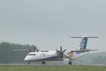 J-birdさんが、中標津空港で撮影したANAウイングス DHC-8-402Q Dash 8の航空フォト(写真)