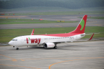yabyanさんが、新千歳空港で撮影したティーウェイ航空 737-8Q8の航空フォト(飛行機 写真・画像)