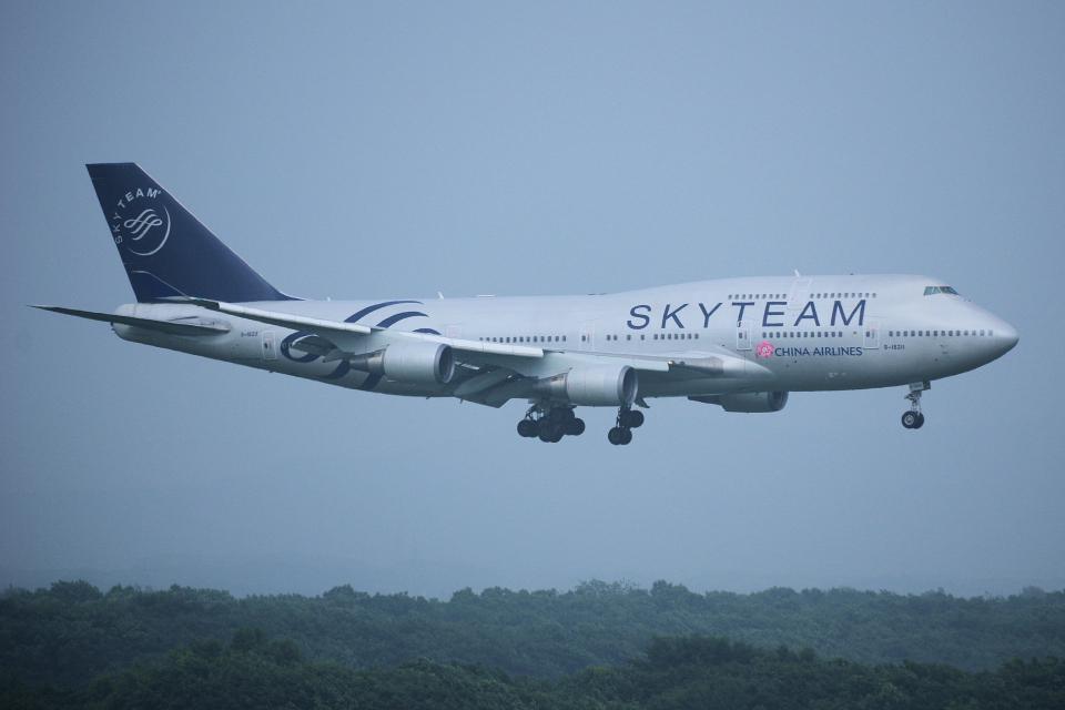 yabyanさんのチャイナエアライン Boeing 747-400 (B-18211) 航空フォト