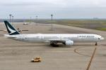 SKY TEAM B-6053さんが、中部国際空港で撮影したキャセイパシフィック航空 777-367の航空フォト(写真)