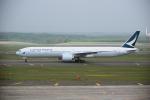 yabyanさんが、新千歳空港で撮影したキャセイパシフィック航空 777-367/ERの航空フォト(写真)
