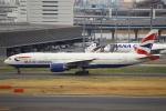 セブンさんが、羽田空港で撮影したブリティッシュ・エアウェイズ 777-236/ERの航空フォト(飛行機 写真・画像)