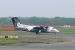 yabyanさんが、新千歳空港で撮影したオーロラ DHC-8-200Q Dash 8の航空フォト(飛行機 写真・画像)