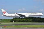 さくらの城南山。さんが、成田国際空港で撮影した日本航空 777-346/ERの航空フォト(写真)