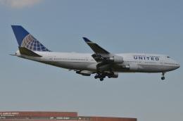 FLY KIX26さんが、成田国際空港で撮影したユナイテッド航空 747-422の航空フォト(飛行機 写真・画像)