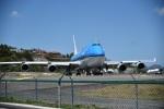 nobu2000さんが、プリンセス・ジュリアナ国際空港で撮影したKLMオランダ航空 747-406の航空フォト(写真)