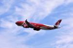 もぐ3さんが、新千歳空港で撮影したエアアジア・エックス A330-343Eの航空フォト(飛行機 写真・画像)