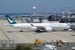 taka2217さんが、関西国際空港で撮影したキャセイパシフィック航空 A350-941XWBの航空フォト(写真)