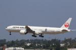 LAX Spotterさんが、ロサンゼルス国際空港で撮影した日本航空 777-346/ERの航空フォト(写真)