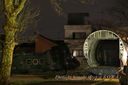 kanade/Ryo@S.O.R.A.さんが、松戸駐屯地で撮影した陸上自衛隊 KV-107II-4の航空フォト(飛行機 写真・画像)