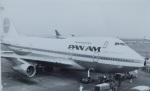 TKOさんが、羽田空港で撮影したパンアメリカン航空 747SP-21の航空フォト(写真)