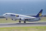 yabyanさんが、中部国際空港で撮影したスカイマーク 737-81Dの航空フォト(写真)