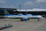 LEGACY-747さんが、成田国際空港で撮影したウズベキスタン航空 757-23Pの航空フォト(飛行機 写真・画像)