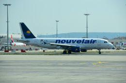 ちかぼーさんが、パリ シャルル・ド・ゴール国際空港で撮影したヌーべルエア・チュニジア A320-214の航空フォト(飛行機 写真・画像)