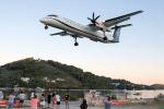 TRAVAIRさんが、スキアトス空港で撮影したオリンピック・エア DHC-8-402Q Dash 8の航空フォト(写真)