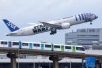 多摩川崎2Kさんが、羽田空港で撮影した全日空 787-9の航空フォト(写真)